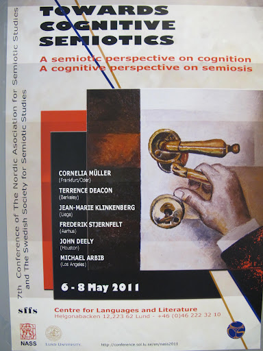 The poster of the Lund 2011 conference.