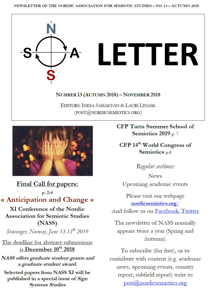 Newsletter 13cover